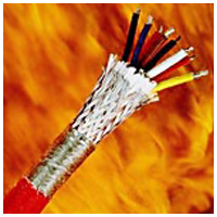 Cables for extreme temperatures Vibraflame